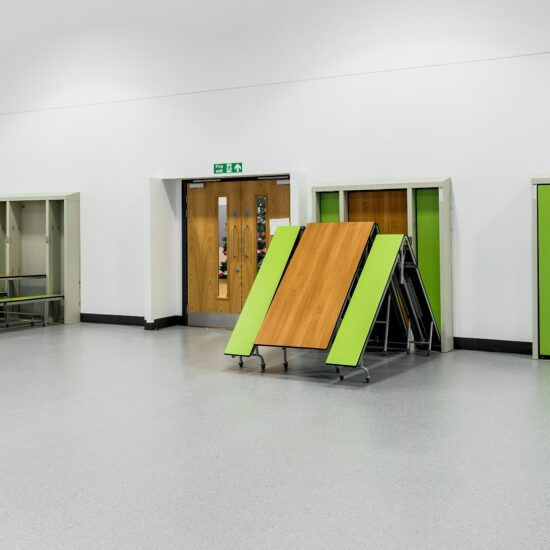 Delivering a multi-use dining hall